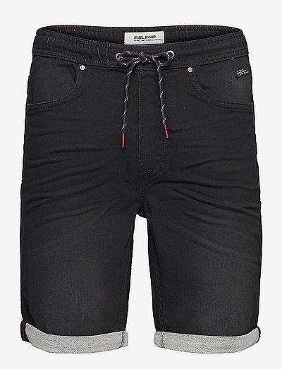 Denim Jogg shorts - denim shorts - denim black