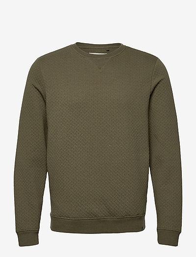 Sweatshirt - overdele - dusty olive