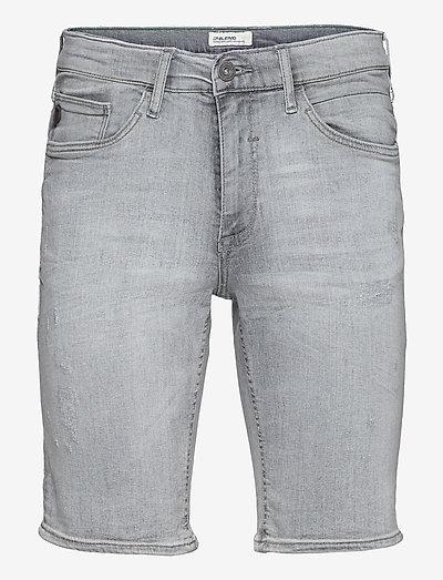 Denim shorts - denim shorts - denim grey