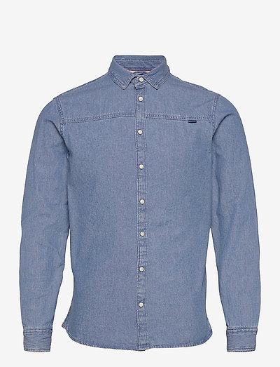 Denim shirt - basic skjorter - denim light blue