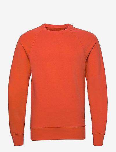 Sweatshirt - overdele - mandarin red