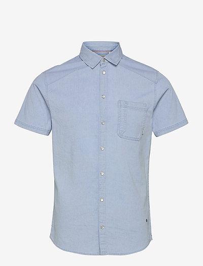 Shirt - basic skjorter - denim light blue