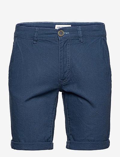 Woven shorts - chinos shorts - dress blues