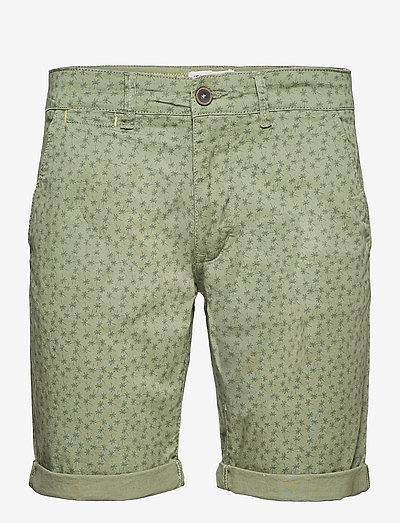 Woven shorts - chinos shorts - oil green