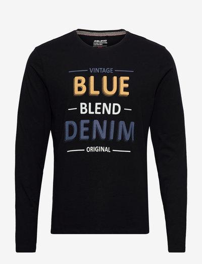 Tee - langærmede t-shirts - black