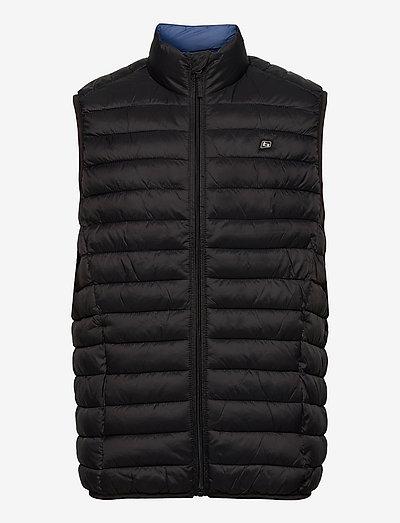 Outerwear - gilets sans manches - black
