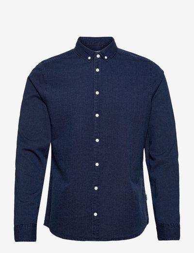 Shirt - basic skjorter - ensign blue