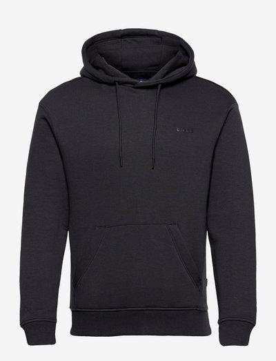 DowntonBH Hood sweatshirt - hættetrøjer - dark navy