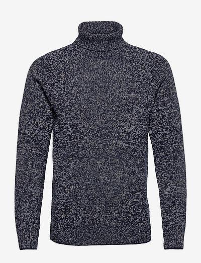 Pullover - basic strik - dress blues