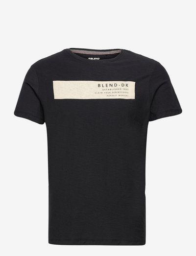 Tee - kortærmede t-shirts - black