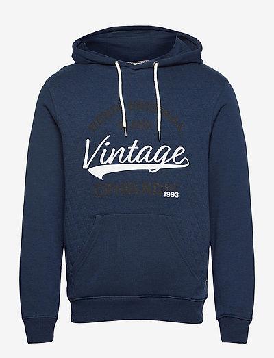 Sweatshirt - hættetrøjer - dress blues