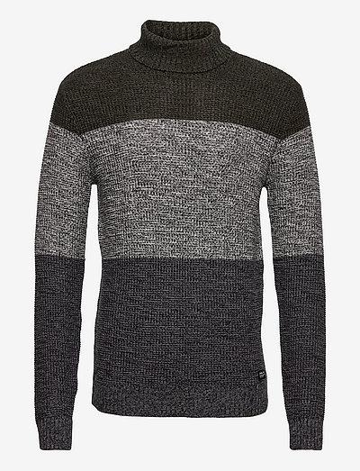 Pullover - rollkragen - deep depths