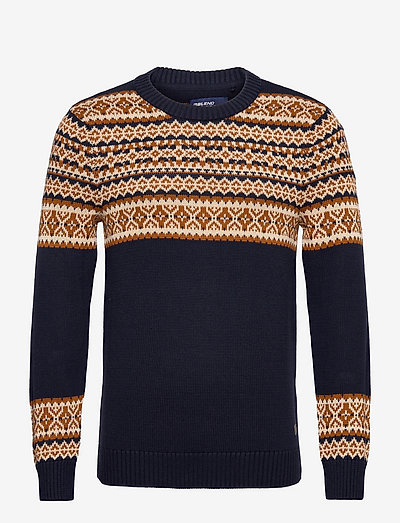 Pullover - rundhals - dress blues