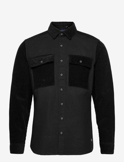 Shirt - casual hemden - black