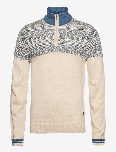 Pullover - half zip - ensign blue
