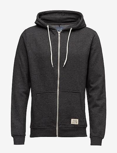 BHNOAH sweatshirt NOOS - hættetrøjer - charcoal
