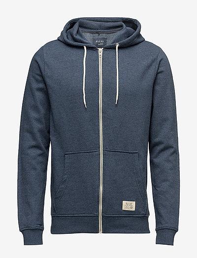 BHNOAH sweatshirt NOOS - hættetrøjer - ensign blue