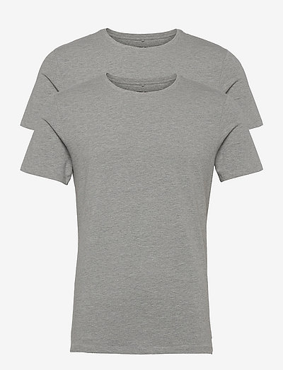 DintonBH Crew neck tee 2-pack NOOS - basic t-shirts - stone mix