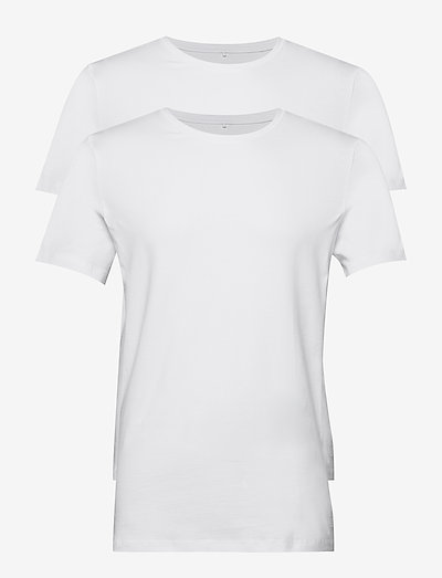 DintonBH Crew neck tee 2-pack NOOS - basic t-shirts - white