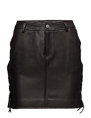 BLK DNM - Leather Skirt 5