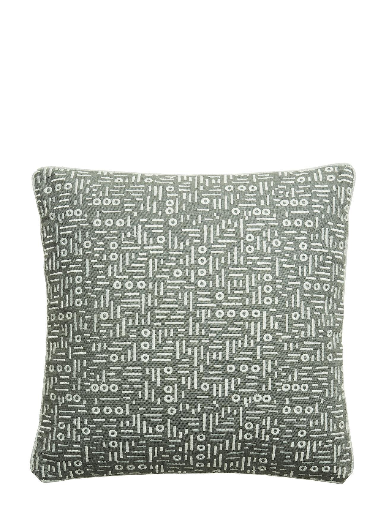 Bloomingville Cushion, Green, Cotton - GREEN