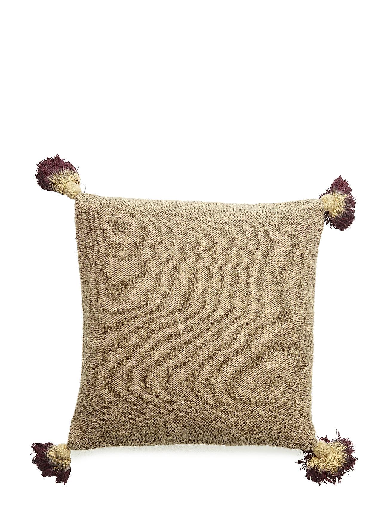 Bloomingville Cushion, Yellow, Acrylic - YELLOW