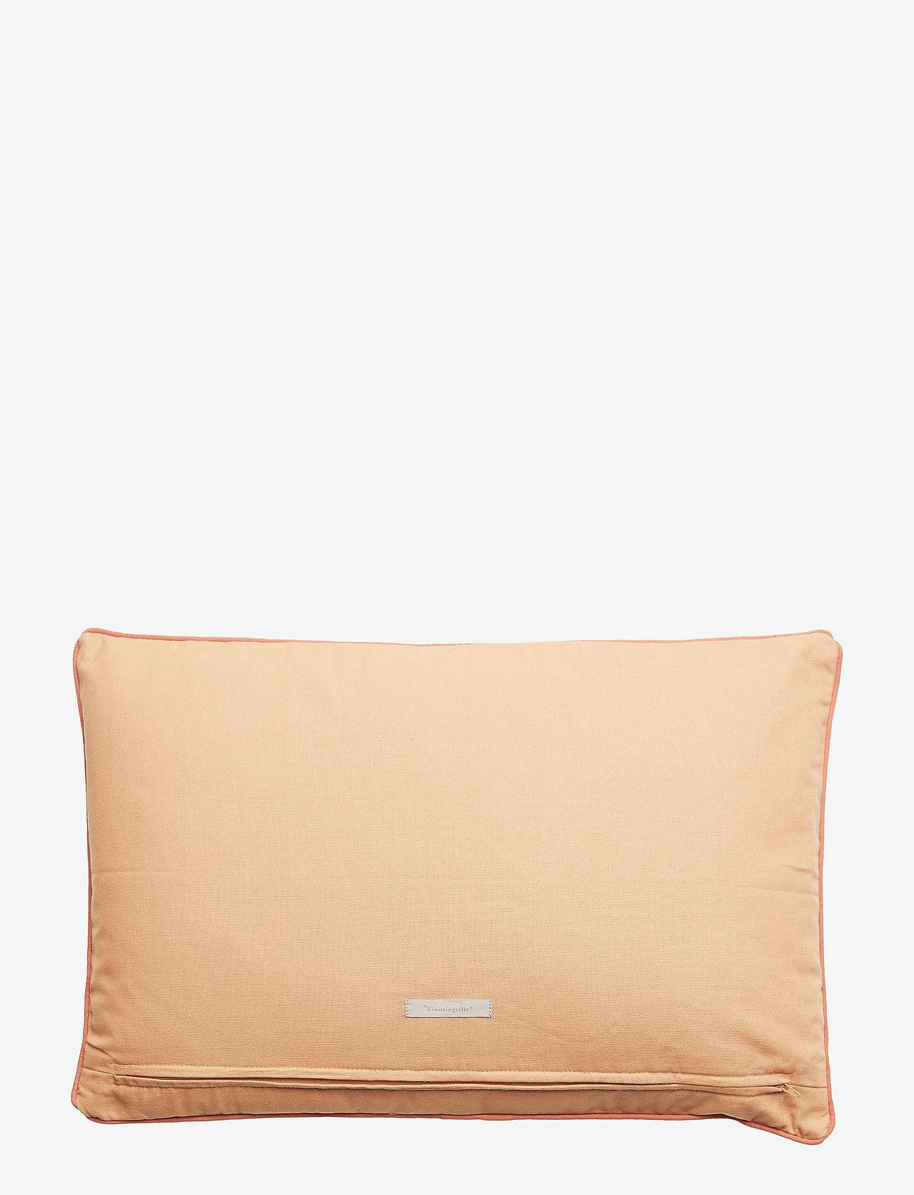 Bloomingville - Cushion, Orange, Cotton - décor - orange