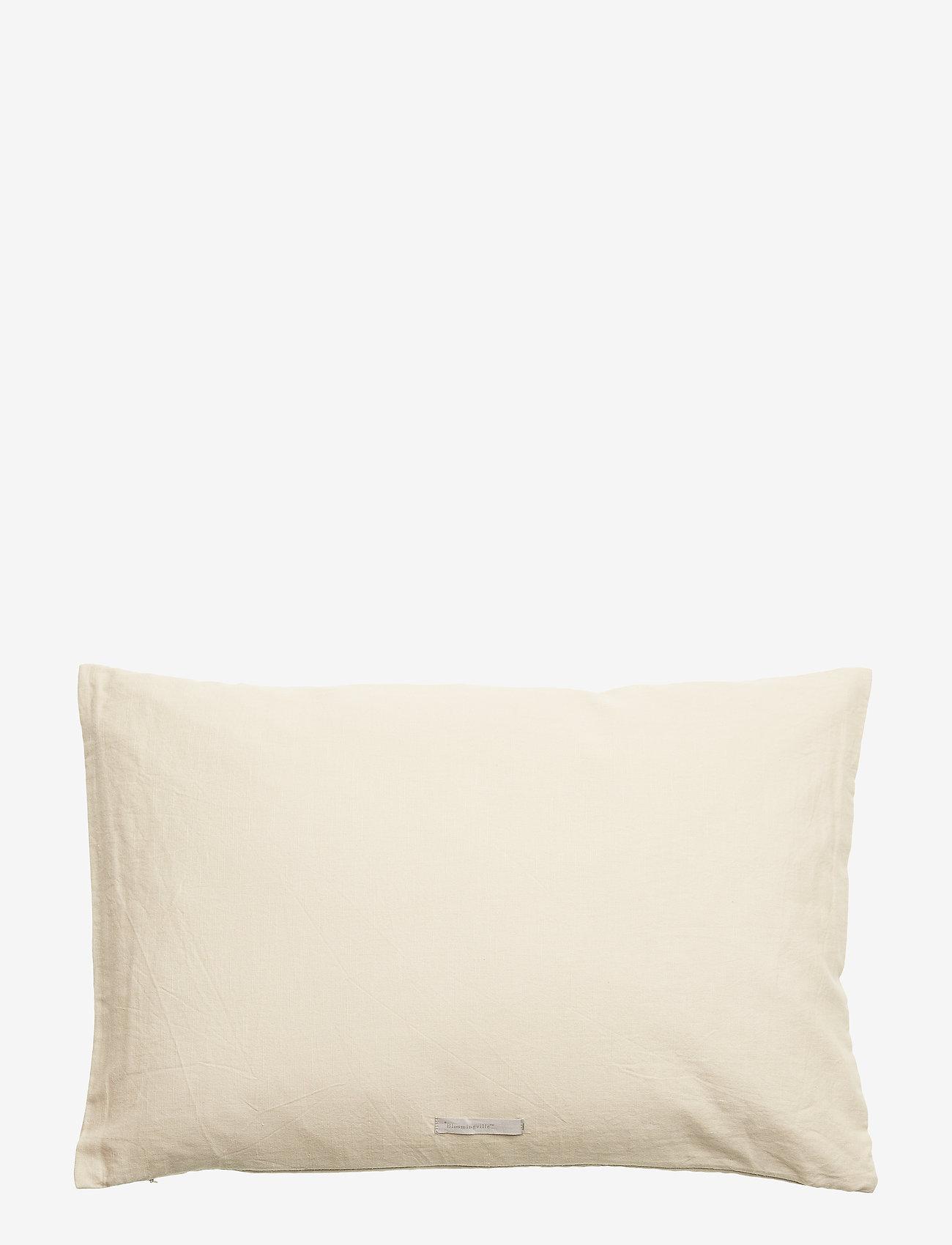 Bloomingville - Honesty Cushion, Grey, Cotton - poduszki ozdobne - grey - 1