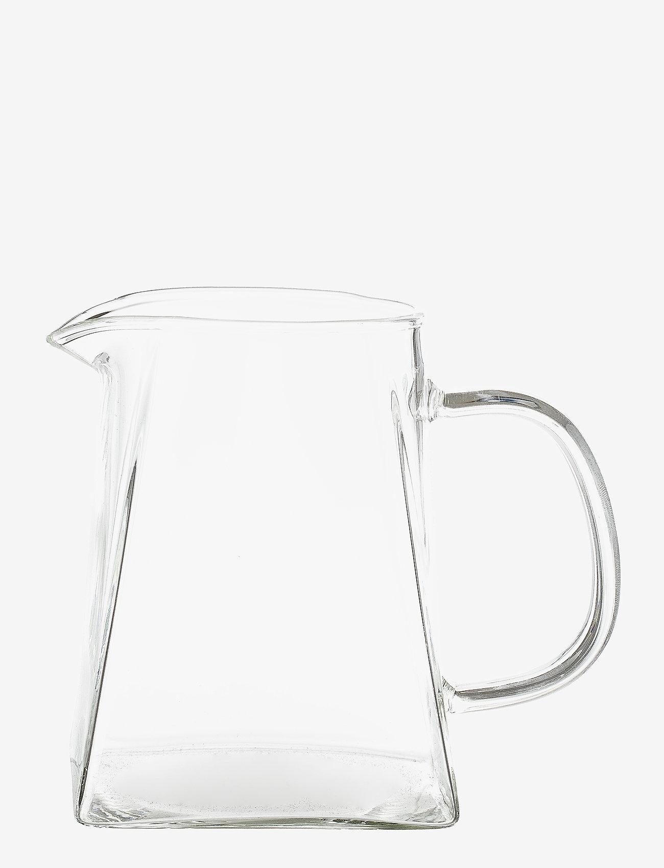 Bloomingville - Sidselmarie Milk Jug - maitokannut - clear - 0