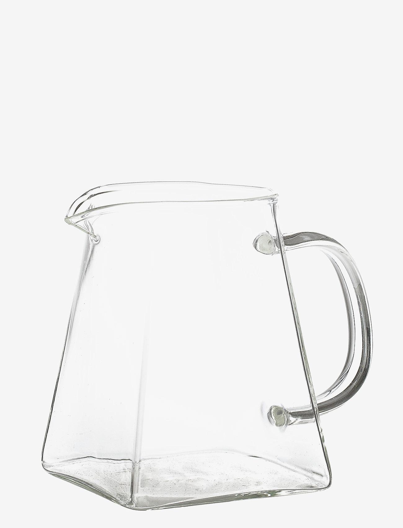 Bloomingville - Sidselmarie Milk Jug - maitokannut - clear - 1