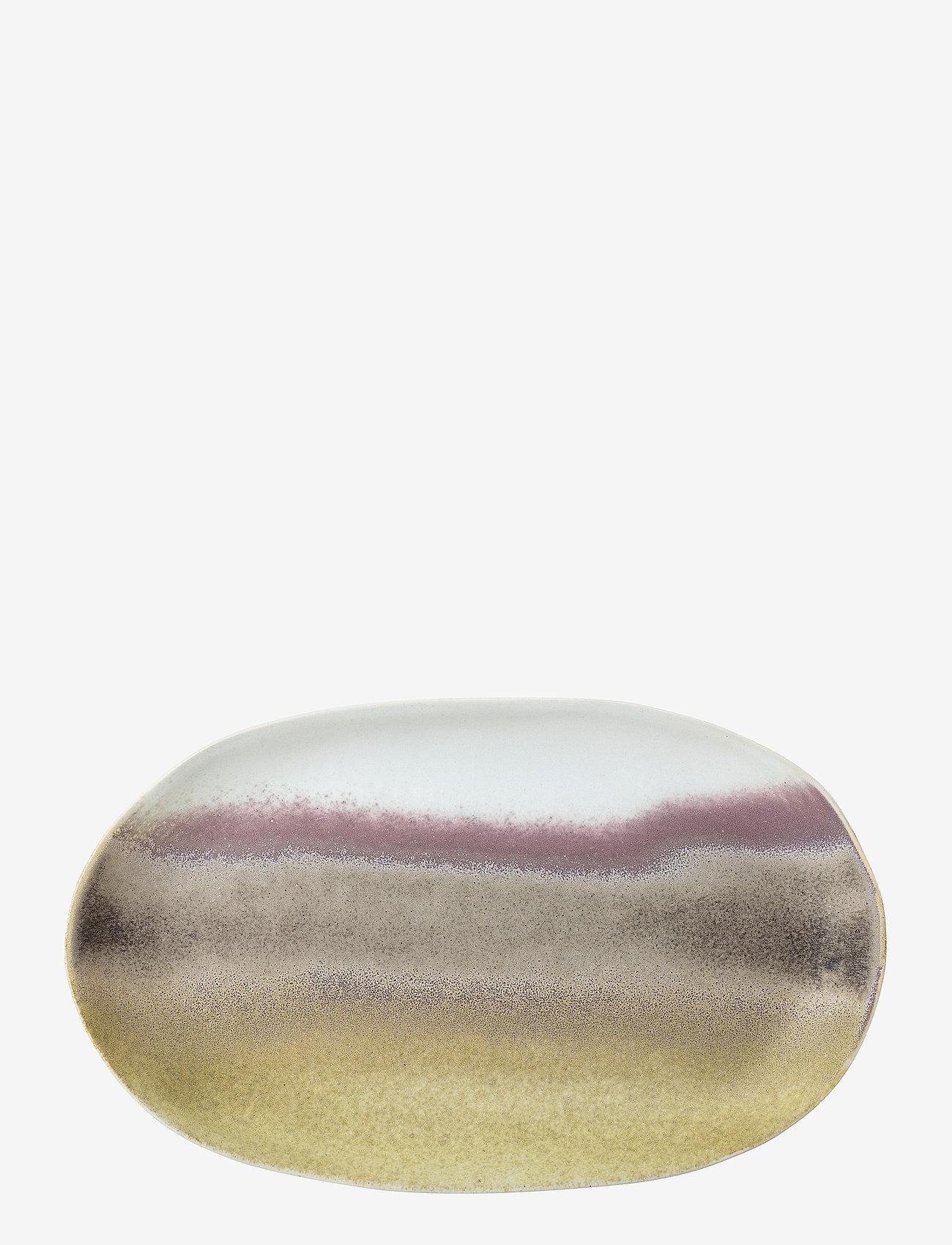 Bloomingville - Alba Serving Plate - serveringsfat - multi-color - 0