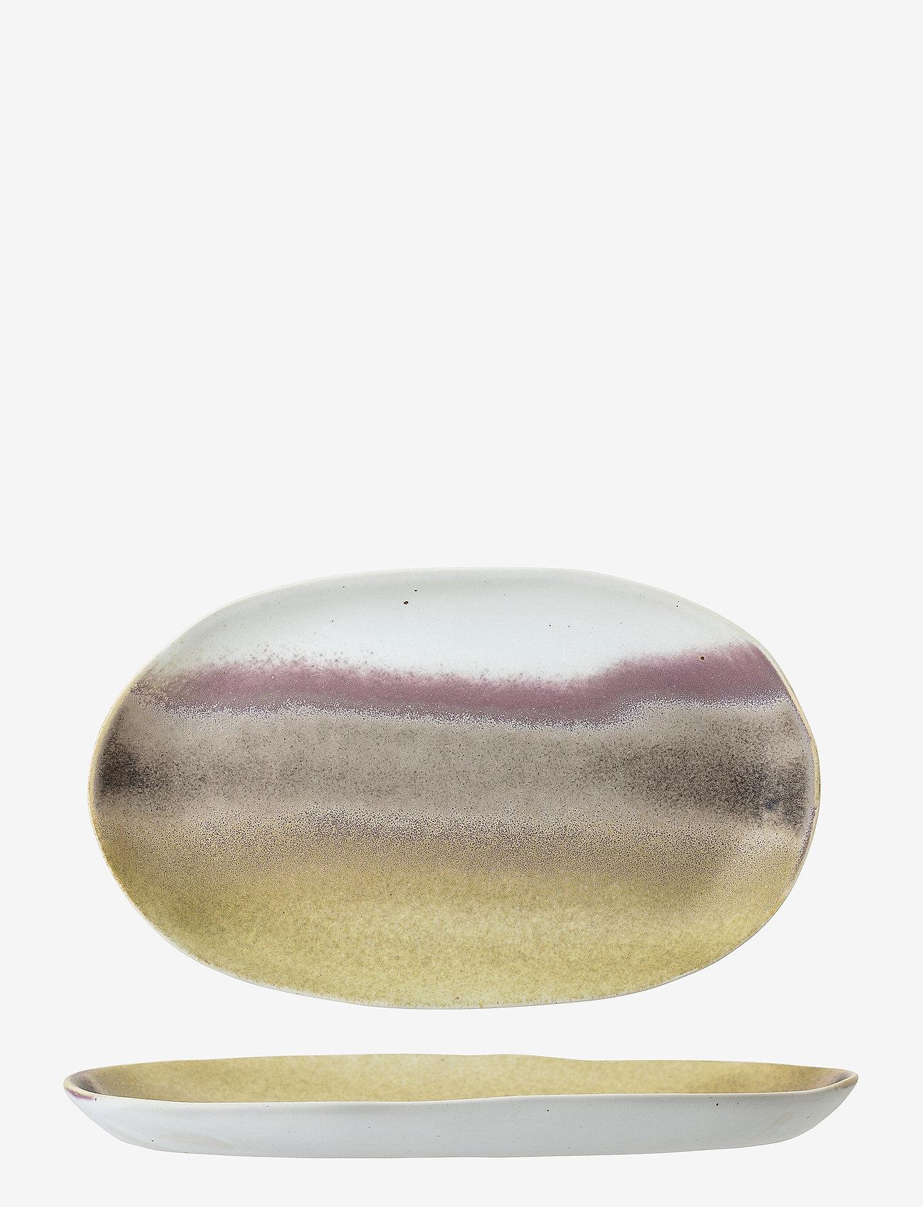 Bloomingville - Alba Serving Plate - serveringsfat - multi-color - 1