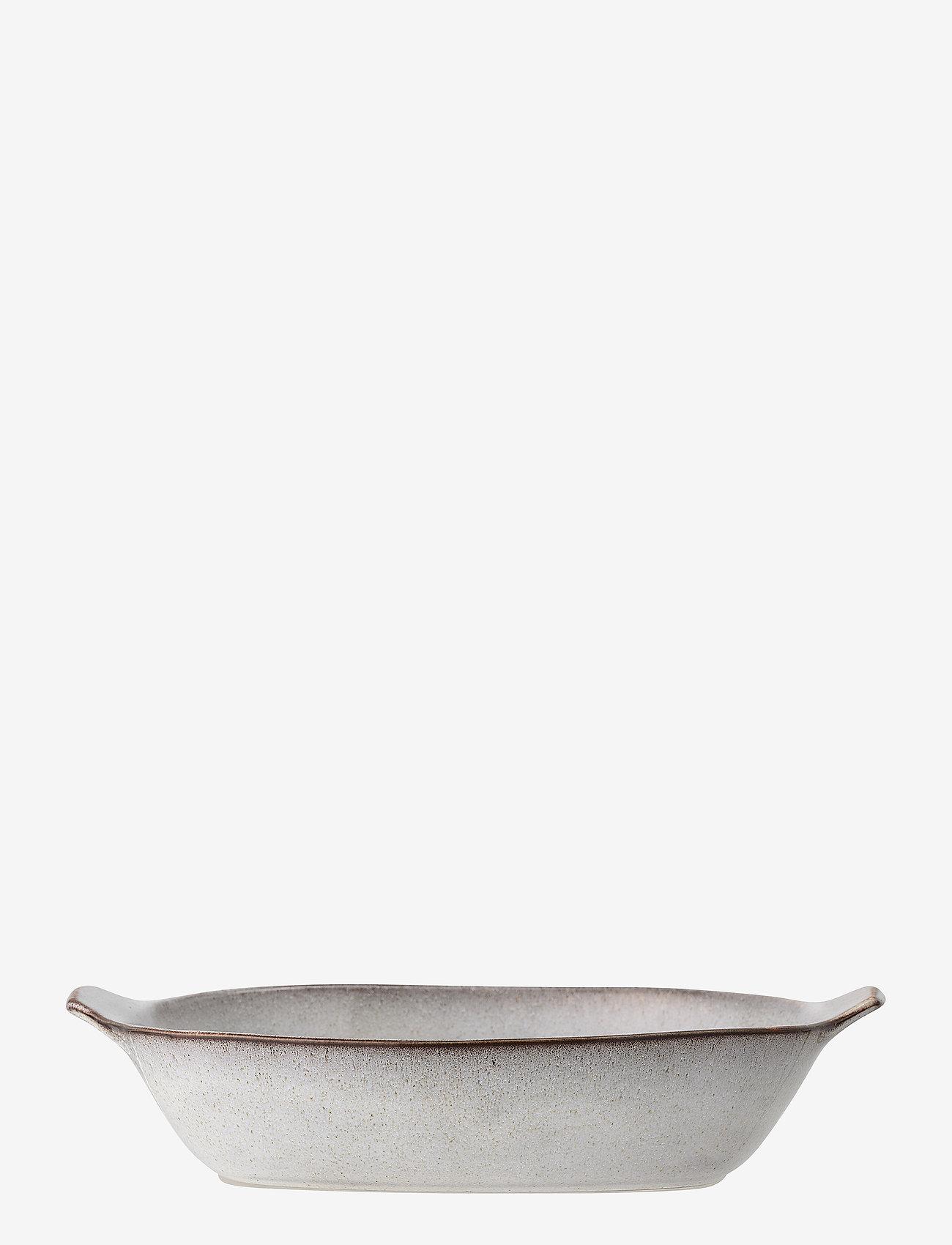 Bloomingville - Sandrine Serving Bowl - tarjoilukulhot - grey - 0