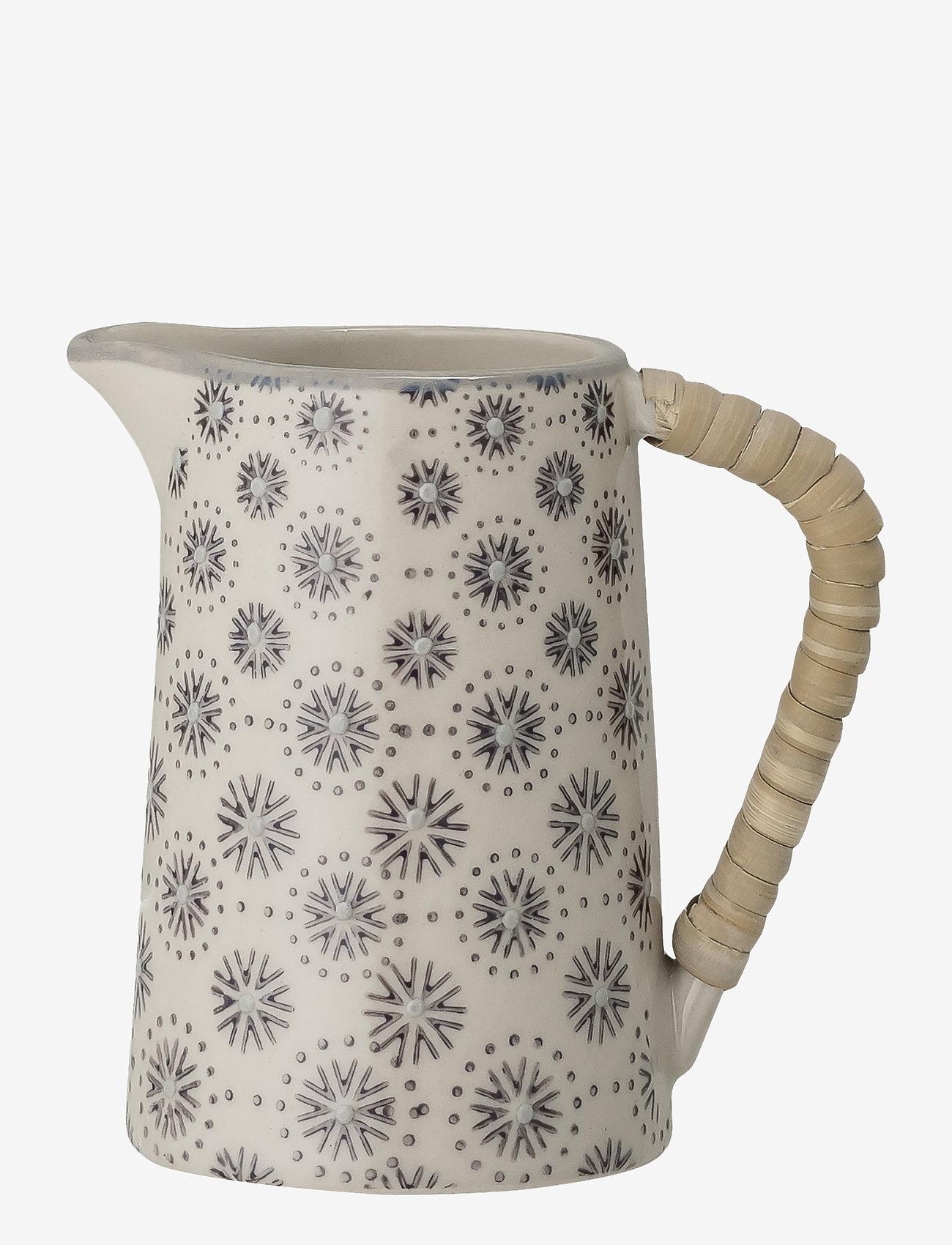Bloomingville - Elsa Milk Jug - maitokannut - grey - 0
