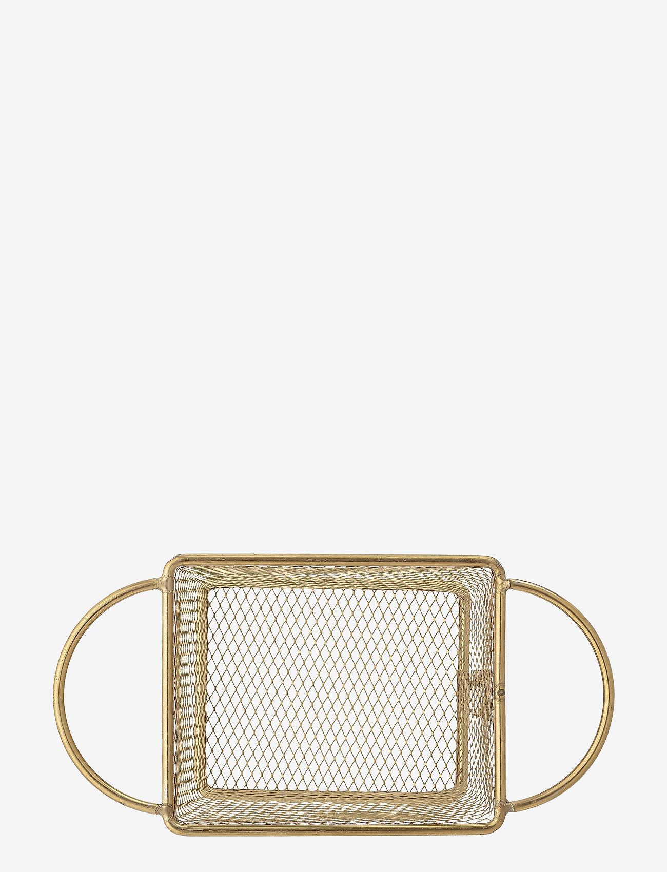 Bloomingville - Harold Serving Basket - tarjoilukulhot - gold - 1