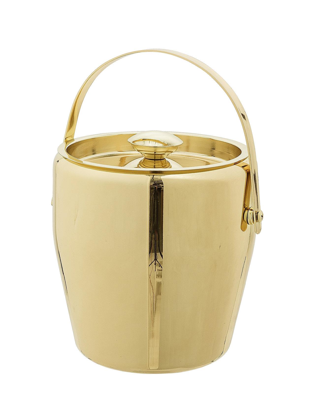 Bloomingville - Cocktail Ice Bucket - isbøtter - gold - 1