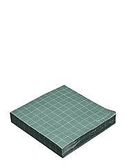 Napkin, Green, Paper - GREEN