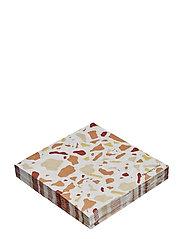 Napkin, Multi-color, Paper - MULTI-COLOR