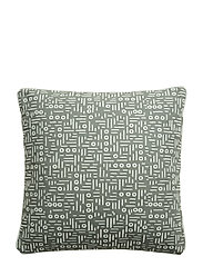 Cushion, Green, Cotton - GREEN