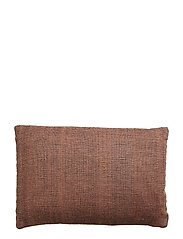 Cushion, Orange, Wool - ORANGE