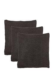 Dishcloth, Black, Cotton - BLACK