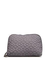 Cosmetic Bag, Grey, Polyester - GREY