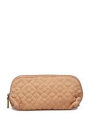 Cosmetic Bag, Orange, Polyester - ORANGE