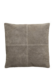 Cushion, Grey, Suede - GREY