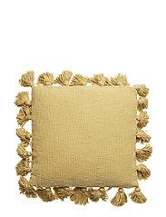 Cushion, Yellow, Cotton - YELLOW