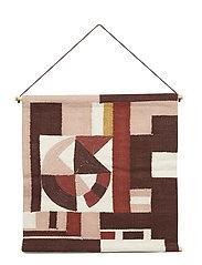 Wall Hanger, Multi-color, Cotton - MULTI-COLOR