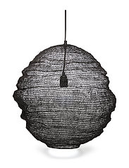 Pendant Lamp, Black, Metal - BLACK