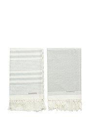 Towel, Green, Cotton - GREEN