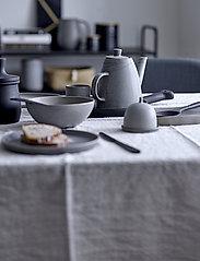 Bloomingville - Kendra Serving Plate - serveringsfat - grey - 4