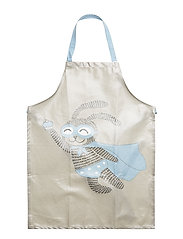 Apron, Blue, Cotton - BLUE